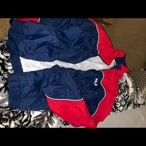 Fila jacket 💜